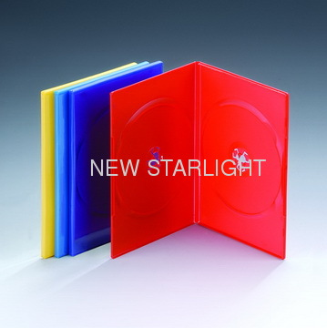 7mm Single/Double Colour DVD Case