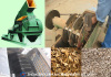 Wood crusher/wood grinder/wood chipper/Wood/Tree Debarking Machine/Bark Peeling Machine/Bark Peeler/Bark Removal
