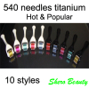 540 needles titanium derma rollers for scar removal