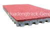 Prefabricated Rubber Running Track Surface, Huadongtrack