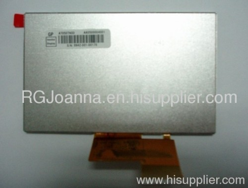 OEM 5 inch TFT LCD Panel 480*272 resolution