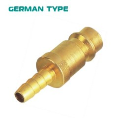 Germany Type Brass Hose Barb Quick Coupling Plug