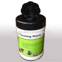 NO alcohol wet cleaning wipes