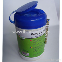 mini wet cleaning wipes