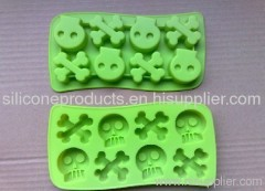 Silicone Ice Cube Tray/Skeleton Shaped Ice Forms