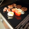 ptfe reusable heavy duty non-stick bbq hotplate liner