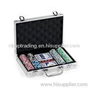 POKE & CHIP SET IN Aluminum Chips Case