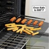 Non-stick Oven Mesh Baking Sheet - heat resistant mesh grid sheet fit for cooking pizza, crisp chips