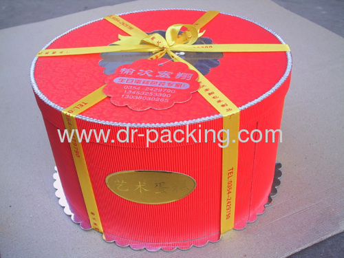 Recycled Round Gift Paper Packaging Boxes