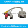 VGA to TV converter, VGA To S Video RCA Cable