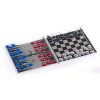 ALUMINUM GAME SET 3 IN 1 GAME(BACKGAMMON, CHESS,CHECKERS)