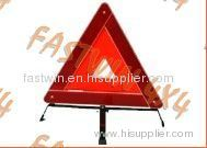 reflecting led warning triangle
