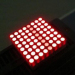 "0.7"" 1.9mm 8 x 8 Ultra Red Dot Matrix LED Display 20.2 x 20.2x5.9mm"