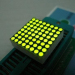 1.9mm 8 x 8 Ultra Green Dot Matrix LED Display