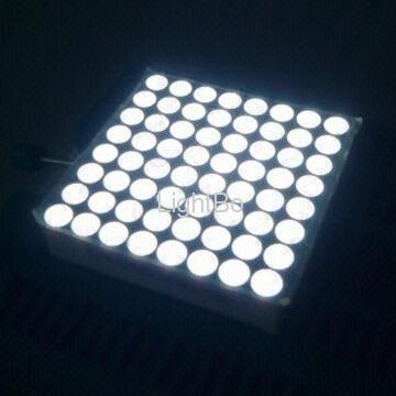 Ultra Bright White 4.8mm 8 x 8 Dot-matrix LED Display