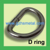 Metal accessories Wire D Ring- Metal bag ring