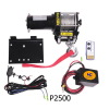 Electric atv winch 2500lb 12v