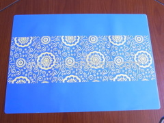 Blue Silicone Table Mat