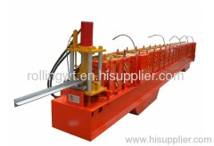 Roller Shutter Door Soleplate Machine