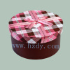 Round sharp paper gift box