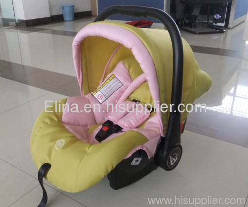 Infant car seat for babies up to 13kg roughly from birth to 12-15 months