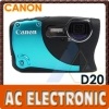 Canon PowerShot D20 IS 12.1MP 5x Optical Zoom Digital Camera
