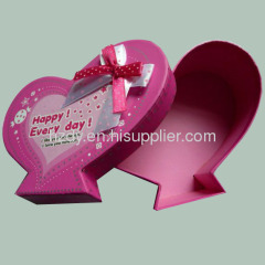 Heart shape paper boxes