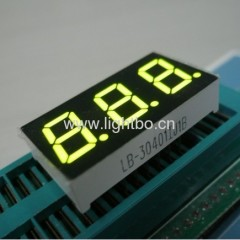 Super bright green common anode 0.4 inches triple-digit led display