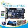 GV1480 dvr card h 264 dvr card cctv pci dvr video capture card support iPhone& Win7