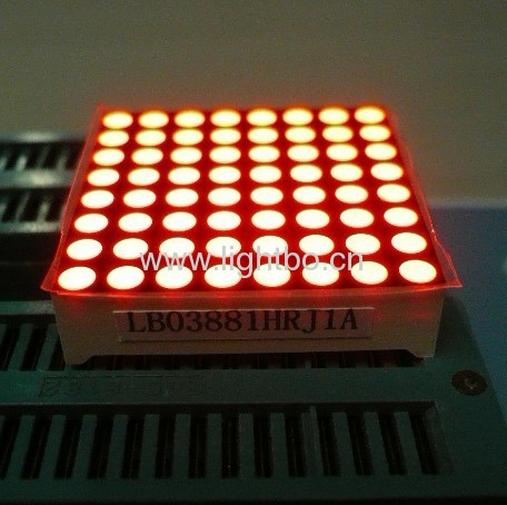 1.26-inch 3mm 32mm x 32mm 8 x 8 Bi-colour Dot Matrix LED Display