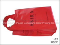HDPE plastic shopping bag