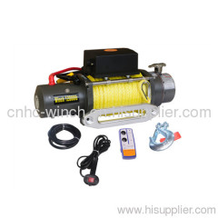 rope 4x4 winch 12000lb heavy duty winch