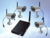 2.4GHz wireless digital cameras with receiver