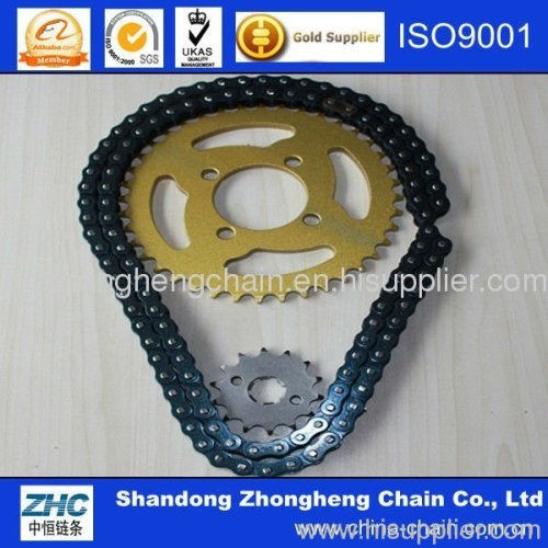 Good Quality Cheap Price Saichao Motorcycle Chain Sprocket Set