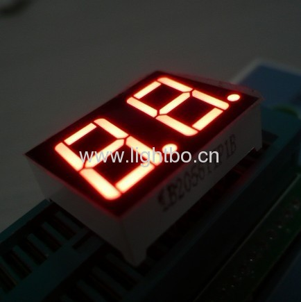 "super bright red common anode 0.56"" 2 digit led numeric displays"
