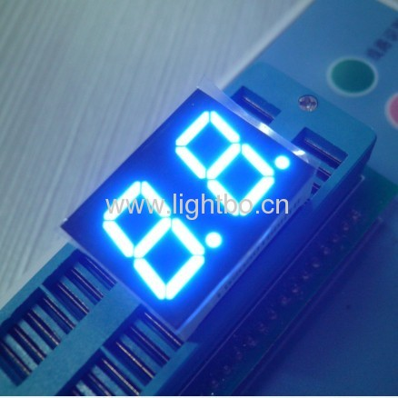 0.50 inches Dual digit anode ultra blue seven segment led displays
