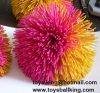 kooshball,hair ball,rubber band ball,sport ball,toy ball,koosh ball keychain