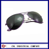 High quality purple OEM metal sunglasses