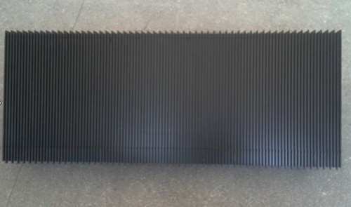 Black Aluminum Step without Demarcations 1000mm