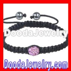 shamballa style crystal ball back to school bracelet jewelry