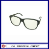 New design no lens decorative plastic sun glasses
