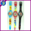 Cute cartoon cheap plastic watch WL1828