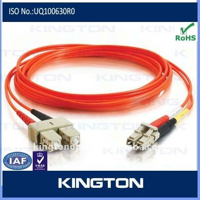 Fiber optic patch cord - optical fiber patch cord