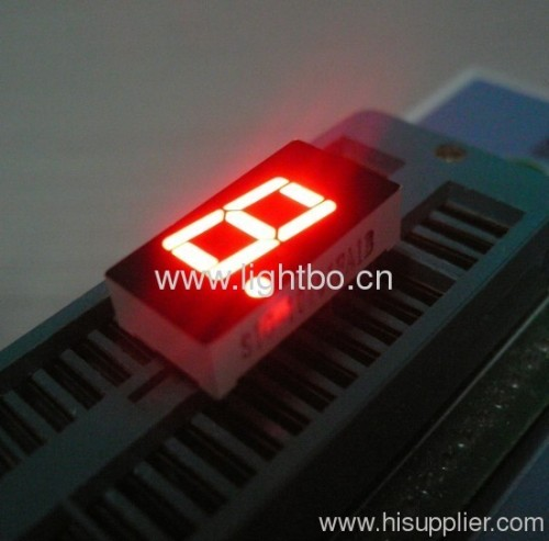 Pure Green 0.4  common anode single digit 7 segment led display for home appliance