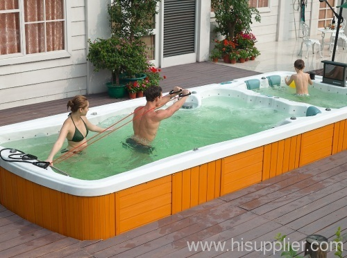 Outdoor Whirlpool Swim Spa