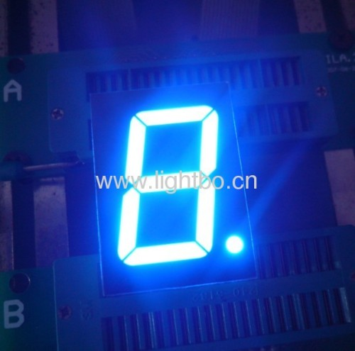 Ultra Blue common anode 1.2-inch seven segment led displays