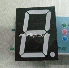 Single-Digit 5 inch 7 Segment LED Display, Various colours available