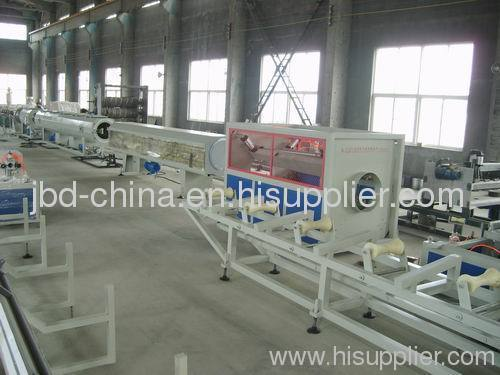 HDPE water suppy and drainage pipe production line