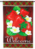 Custom Strawberry garden flag