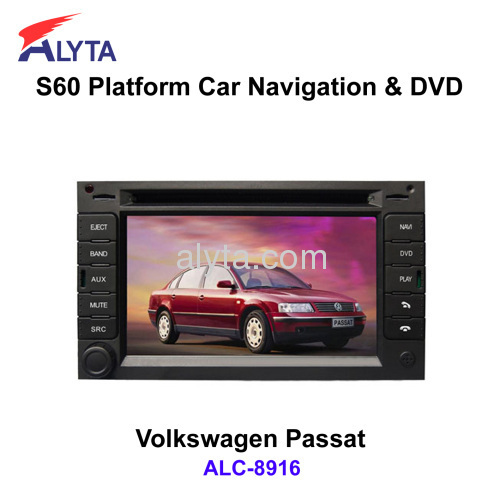 Volkswagen new Passat car navigation with DVD DVB-T IPOD 40w*4 amplifier
